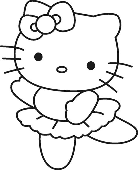 coloring pages hello kitty baby easy to draw hello kitty coloring home