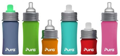Pura Stainless Steel Infant Bottle 11oz325ml With Xl Sipper Mura image gallery pura