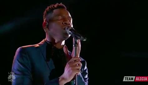 chris blue sings take me to the king on the voice 2017