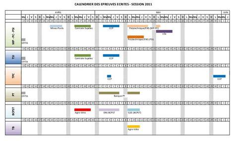 Calendrier Concours Cpge Maj Calendrier 233 Preuves 233 Crites 2011 Sujets Et Corrig 233 S