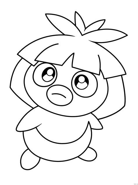 pokemon coloring pages magikarp 神奇宝贝之阿雷阿雷奥拉 神奇宝贝之小瞬图片1