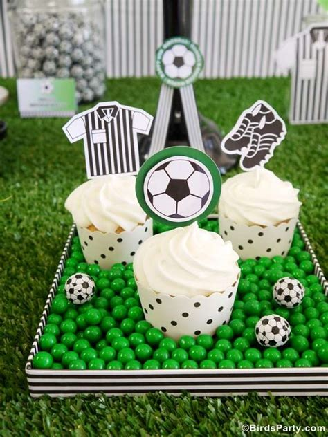 soccer themed birthday decorations soccer football f 250 tbol birthday ideas photo 6 of
