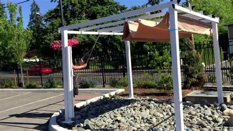 Aleko 10 X 10 Feet Pergola Outdoor Canopy Youtube 10 X 10 Pergola