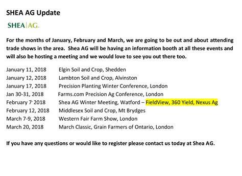 january 2018 inforem info shea ag january news letter 2018