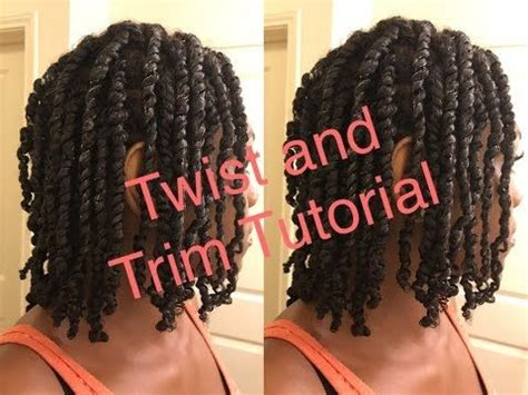 Two Strand Twist Parted At An Angle | 3056 best images about natural hair on pinterest black