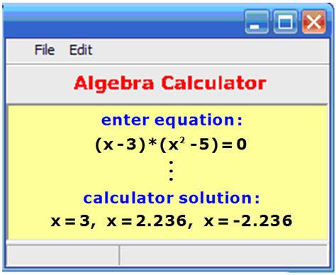 calculator equation algebraic equations calculator tessshebaylo