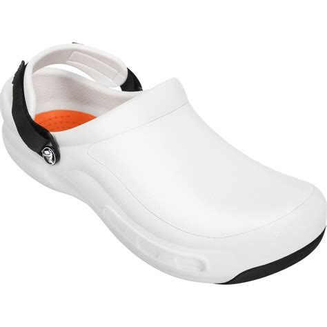 crocs bistro pro clog white work clog with