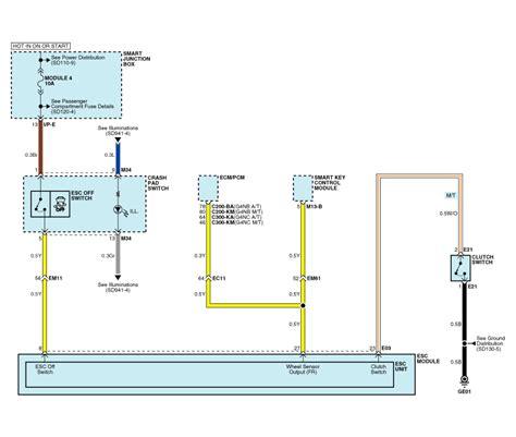 service manual electronic stability control 2009 kia kia forte circuit diagram esc 3 esc electronic stability control system brake system