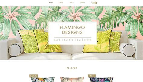 home decor items websites online store website templates wix