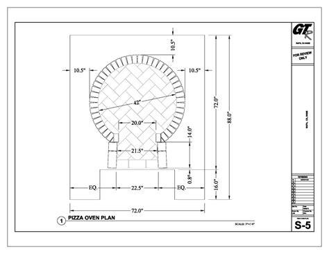 pizza oven plans  easy  follow   build  diy