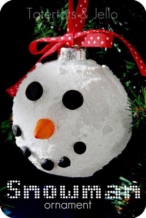snow ball ornaments homemade christmas decor  scrap