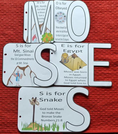 craft lessons for the 25 best ideas about moses crafts on bible