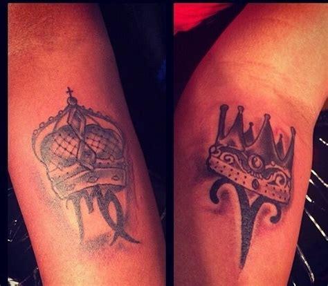 zodiac couple tattoos couples king zodiac tattoos