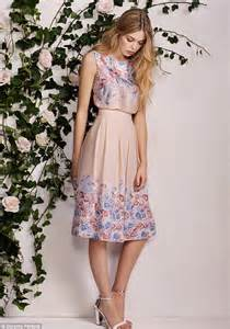 dorothy perkins unveils an english rose inspired range filled with pretty florals lace and
