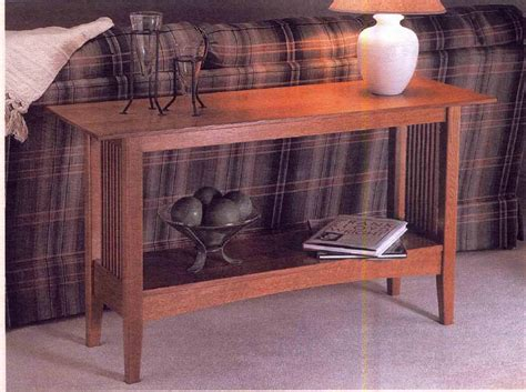 key town sofa table mission style sofa tables la musee com