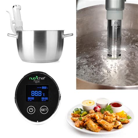 amazon cooking amazon com nutrichef sous vide souve precision cooker
