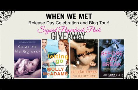 the coaching hours how to date a douchebag books tour giveaway when we met by a l jackson molly