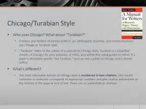 How To Write Chicago Style Paper Research Paper Chicago Style Turabian