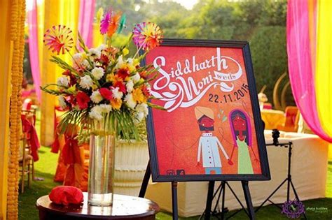 Wedding Name Board by Wedding Decorations Name Board Bigindianwedding