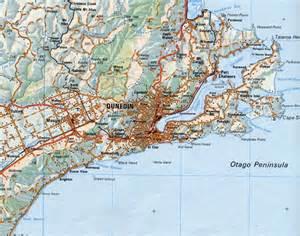 maps of dunedin