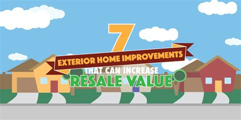 7 exterior home improvements that increase resale value
