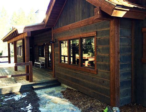 rustic siding for houses mountain rustic prefinished reclaimed barn wood alternative ranchwood and aquafir