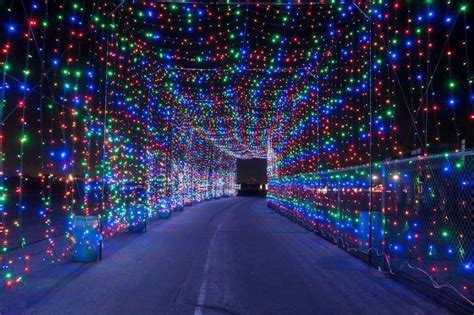 amazing lightd this amazing light tunnel is opening just outside toronto