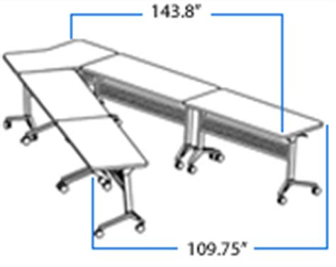 U Shaped Conference Table Dimensions V Shaped Conference Table Configured From Portable Flip Top Conference Tables