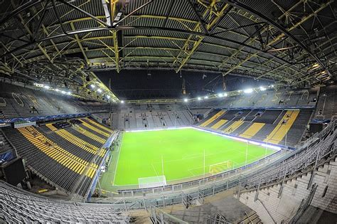 signal iduna park away section signal iduna park stadion the football stadiums com
