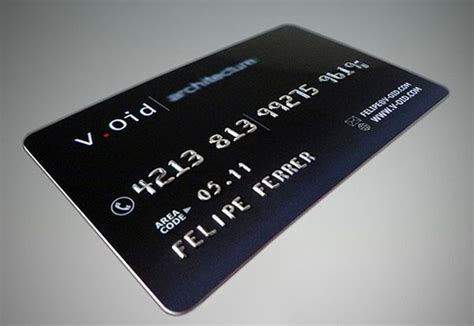 10 cool credit card business cards for a unique brand