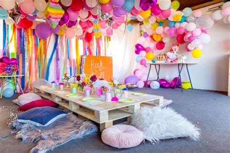 karas party ideas rainbow trolls disco birthday party karas party ideas
