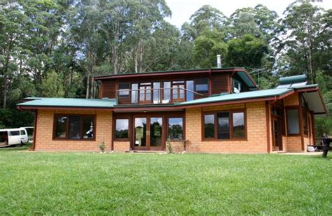 mud brick house designs mud brick home dorrigo galleries kalang design house