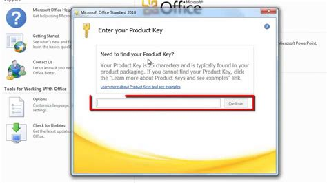 Office 2010 Product Key Finder by How To Change Office 2010 Product Key