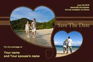 save the date photo templates free free photo templates save the date chocolate
