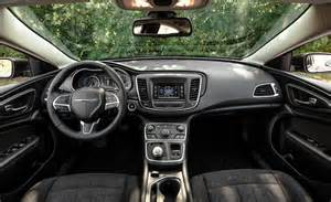 2015 Chrysler 200s Interior Car And Driver