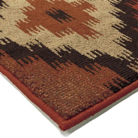 small accent rugs orian rugs southwest southwest aztec panel multi area