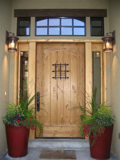 exterior doors    statement hgtv