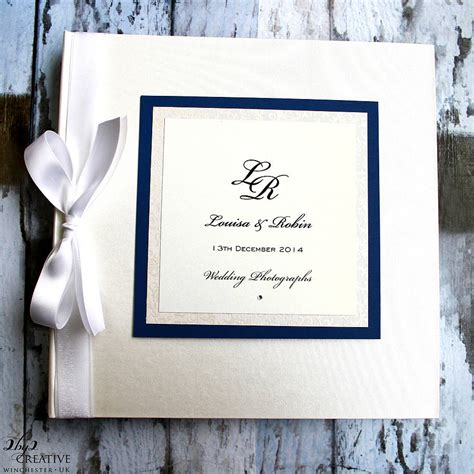Wedding Album Cover Titles by Personalised Photo Album By 2by2 Creative
