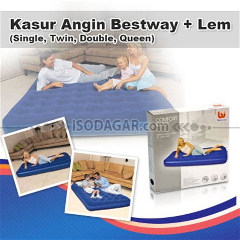 Lem Kasur Angin kasur angin bestway lem single