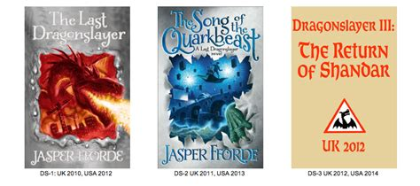 Jasper Reports Books by Intermittently Book Report Jasper Fforde S Dragonslayer Series Sorta