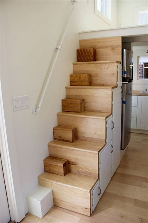 stairs design ideas small house modern tiny home boasts a big kitchen for foodies treehugger