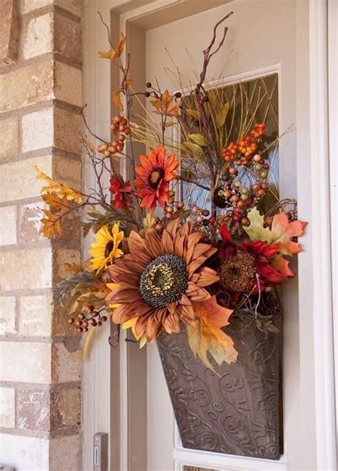 Floral Door Decorations by Silk Flower Door Decoration For Fall Pictures Photos And