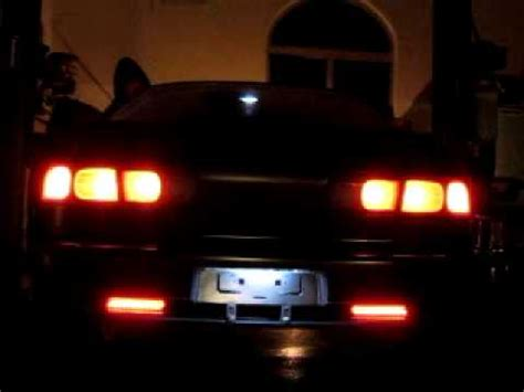 1996 integra gsr db8 sequential tail light mod youtube