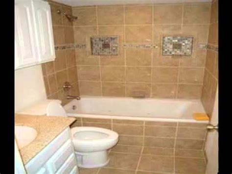 Small Bathrooms Tile Ideas Small Bathroom Tile Design Ideas Youtube