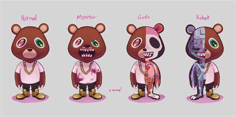 dropout bear by sanagii on deviantart