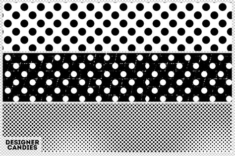 Dot Pattern by Free Halftone Dot Patterns For Photoshop Designercandies