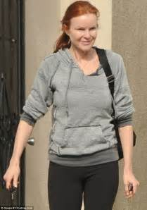 Marcia Cross Placed On Bed Rest by Marcia Cross Sports Youthful Glow As She Steps