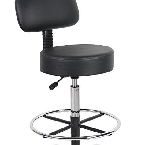 Drafting Stool With Back by Drafting Stool With Back Cushion Adjustable Seat