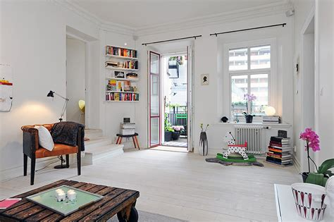 nordic style scandinavian style three room apartment