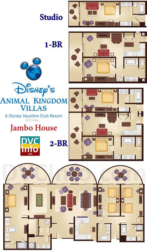 disney animal kingdom villas floor plan disney s animal kingdom villas dvcinfo com